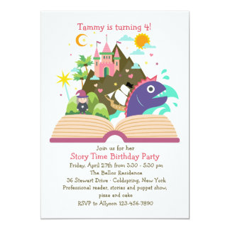 Story Time Invitation