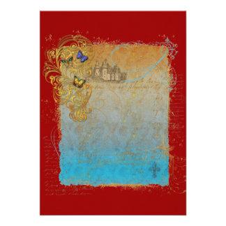 Storybook Fairytale Castle Invitation Cards