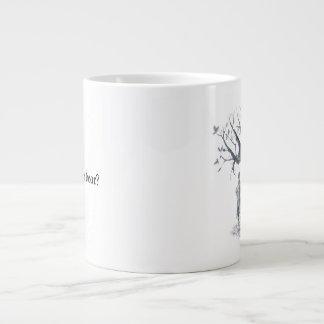 Storybook Mug:Cheshire Cat and Alice in Wonderland Large Coffee Mug