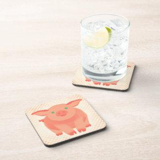 Storybook Pig Beverage Coaster