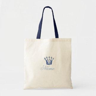 Storybook Princess Crown or Prince Crown Tote Bag