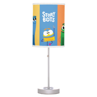 StoryBots Colorful Table Lamp