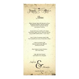 Storyline Customizable Wedding Menu Card Rack Card Template