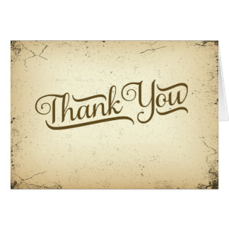 Storyline Formal Wedding Thank You Card