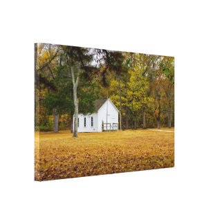 Storys Creek School Canvas Print
