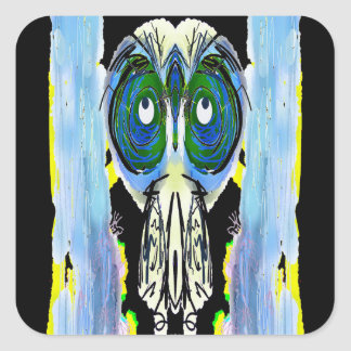 Storyteller - Clipped Wings Square Sticker