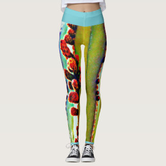 Stove Pipe Cactus Bulbs Women's Leggings. Leggings