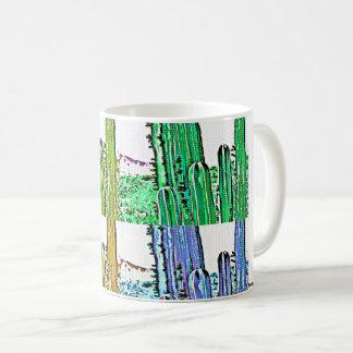Stove Pipe Cactus Pop Art Coffee/Tea Mug/Cup Coffee Mug