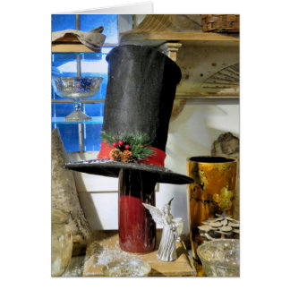 Stove Pipe Hat Card
