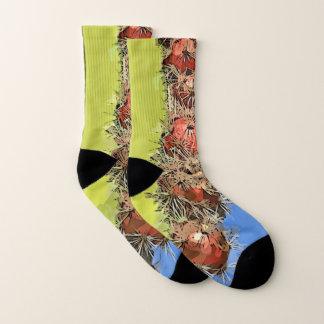 Stove Pipe in Bloom Unisex Socks 1