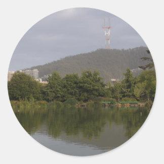 Stow Lake, San Francisco, USA #5 Stickers
