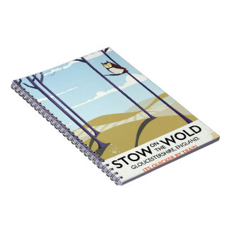 Stow-on-the-Wold,Gloucestershire, England Notebook