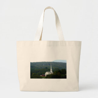 Stowe Community Church Large Tote Bag