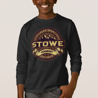 Stowe Logo Sepia Dark T-Shirt
