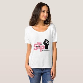 STP - White Logo Slouchy T T-Shirt