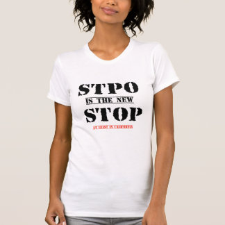 stpo is the new stop typo funny T-shirt design