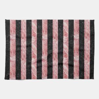 STR1 BK-RW MARBLE TOWEL