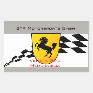 STR Motorsports Sticker