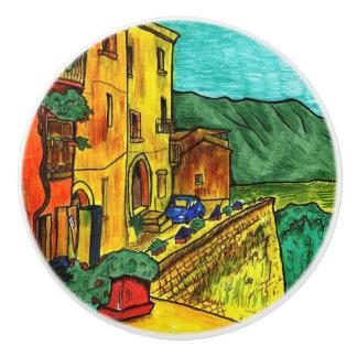 Strada di Artisti Ceramic Knob