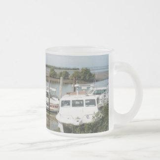 Stradbroke Island Flyer 10 Oz Frosted Glass Coffee Mug