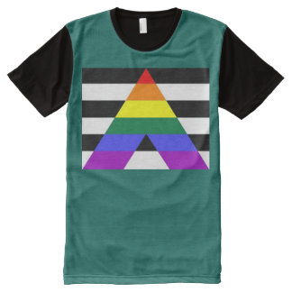 Straight Ally All-Over-Print T-Shirt
