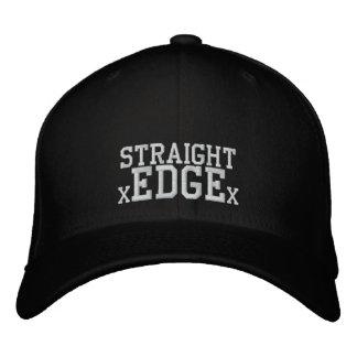 Straight Edge cap Embroidered Baseball Cap