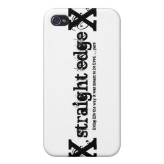 Straight Edge Covers For iPhone 4