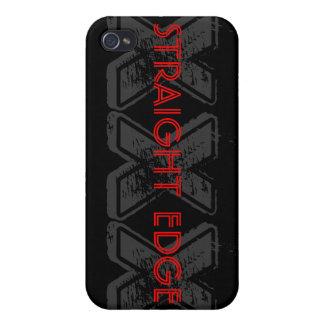 STRAIGHT EDGE XXX  iPhone 4 CASE