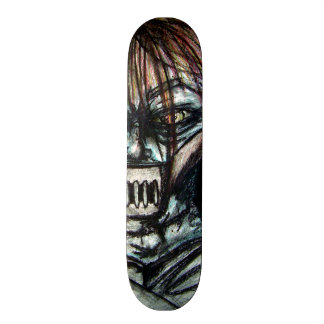 Straight Jacket Psycho Killer for Halloween Skate Board