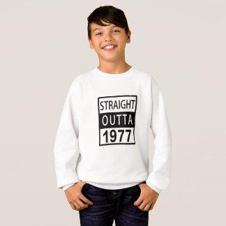 Straight Outta 1977 Funny 40th Birthday Sweatshirt