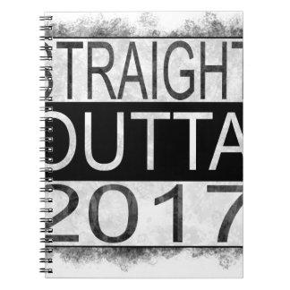 Straight outta 2017 notebooks