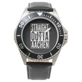 straight outta Aachen Watches