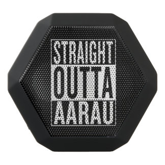 straight outta Aarau Black Bluetooth Speaker