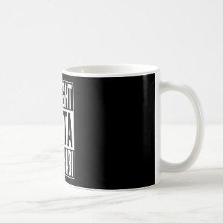 straight outta Abu Dhabi Coffee Mug