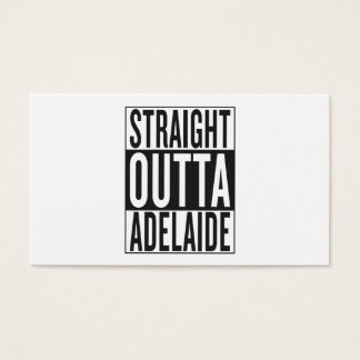 straight outta Adelaide Business Card