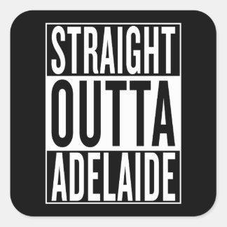 straight outta Adelaide Square Sticker