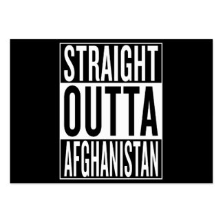 straight outta Afghanistan Large Business Card