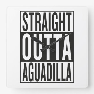 straight outta Aguadilla Wallclock