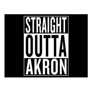 straight outta Akron Postcard