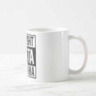 Straight Outta Alabama Coffee Mug