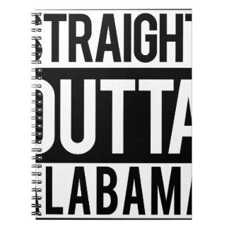 Straight Outta Alabama Notebook