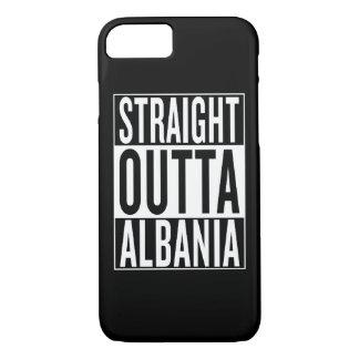 straight outta Albania iPhone 7 Case