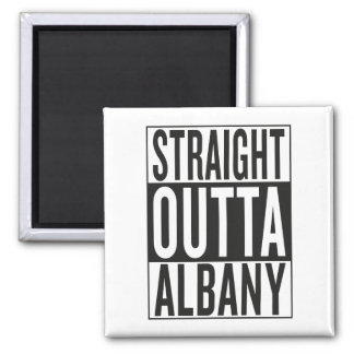 straight outta Albany Square Magnet