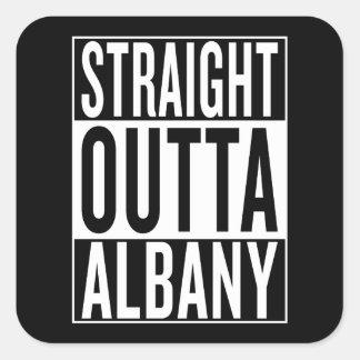straight outta Albany Square Sticker