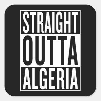 straight outta Algeria Square Sticker
