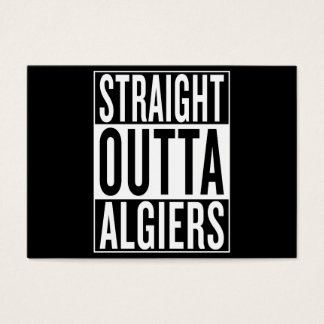 straight outta Algiers Business Card