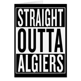 straight outta Algiers Card