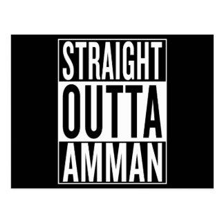 straight outta Amman Postcard