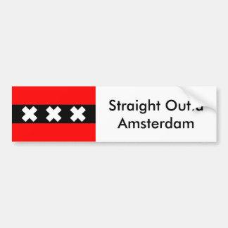 Straight Outta Amsterdam bumpersticker Bumper Sticker