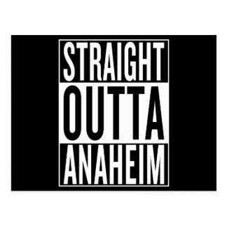 straight outta Anaheim Postcard